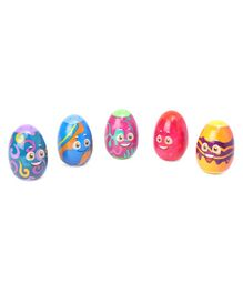 Spin Masters Peek and Play Surprise Eggs Pack Of 5 - Multicolor