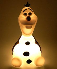 Disney Frozen Olaf Night Lamp White - Height 15 cm
