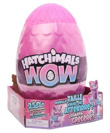 Hatchimals Wow Llalacorn Surprise Egg - Pink (Styles May Vary)
