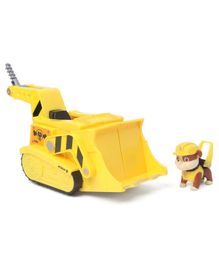 Paw Patrol Flip &Fly Rubble 2-in-1 Transforming Vehicle - Yellow