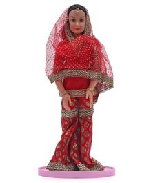 Speedage Indian Diva Doll Red - Height 39 cm