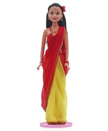 Speedage Miss India Doll Yellow - Height 75 cm