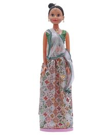 Speedage Miss India Bridal Doll - Green & White - Doll Height 75 cm