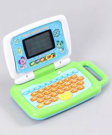 Leap Frog 2 In 1 Leaptop Touch Screen & Keyboard Modes - White Green