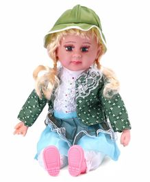 Gooyo Musical Doll with Cap Multicolour - Height 46 cm