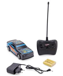 Hot Wheels RC Car With Charger - Blue