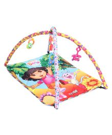 Dora Activity Play Gym With Toys - Multicolour