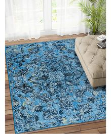 Status Multi Carpet Rug With Anti Slip Backing For Room Medium - Multicolor