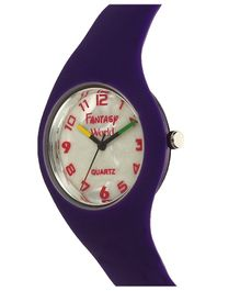 Fantasy World Analogue Watch - Violet
