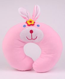 Play Toon Neck Support Pillow Puppy Design - Pink