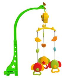 Magic Pitara Musical Rattle Cot Mobile Set With Music - Multiclor