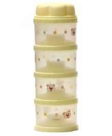 Rikang Four Layer Formula Container - Yellow
