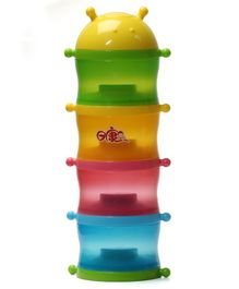 Rikang Four Layer Formula Container - Multicolor