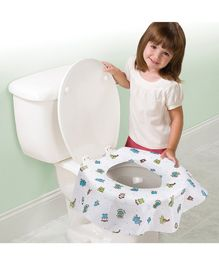 Summer Infant Keep Me Clean Disposable Potty Protectors Covers Pack of 10 - White
