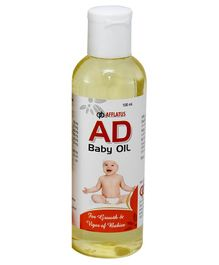 Afflatus AD Baby Massage Oil Pack Of 2 - 100 ml each
