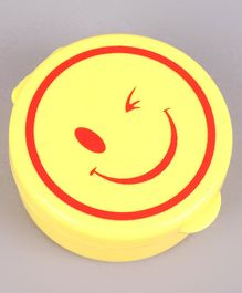 Collapsible Cup Smiley Design Yellow - 280 ml