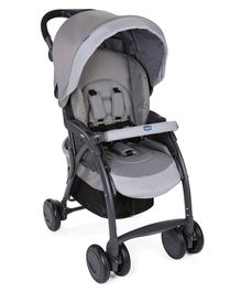 Chicco Simplciity Stroller With Storage Basket - Grey