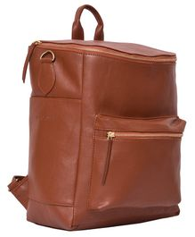 Bohomia Premium Stylish Commuter Backpack - Brown
