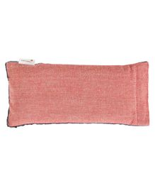 Kanyoga Eye Pillow With Lavender And Flaxseed Filling - Red Blue