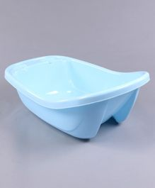 Bath Tub With Drain Plug Large - Sky Blue