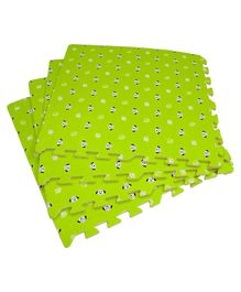 Yoto Pablo Honey Kid's Interlocking Play Mat Green - Pack of 4