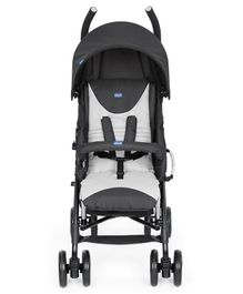 Chicco Echo Stroller with Canopy & Bumper Bar - Black Grey