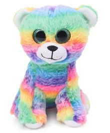 Dimpy Stuff Teddy Bear Soft Toy Multicolor - Height 20 cm
