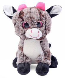 Dimpy Stuff Goat Soft Toy Brown - Height 20 cm