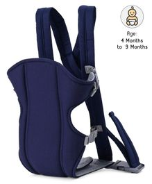 3 in 1 Padded Baby Carrier With Wide Seat - Navy Blue