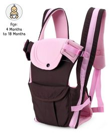 3 in 1 Padded Baby Carrier - Pink