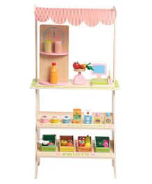 Wufiy Supermarket Wooden Toy - Multicolour
