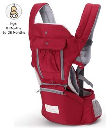 3 Ways Carrier With Storage Pocket - Red