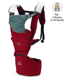 3 In 1 Baby Carrier - Red