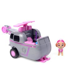 Paw Patrol Flip & Fly Skye 2-in-1 Transforming Vehicle - Grey Pink