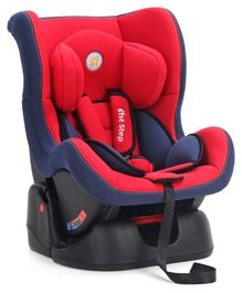 1st Step Baby Car Seat - Red Blue