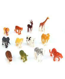 Dr. Toys Animal Set Multicolor - 12 Pieces