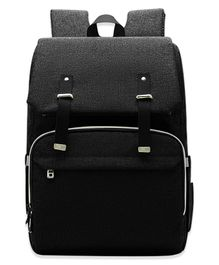 Bembika Premium Diaper Bag Backpack - Black