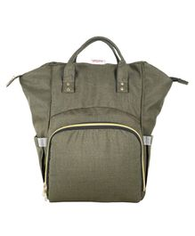 VParents Lovie Dovie Multipurpose Diaper Bag cum Mother Bag Backpack with 13 Pockets - Olive