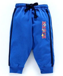 Cucumber Full Length Track Pant With Drawstring - Royal Blue