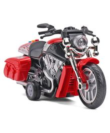Dr. Toy Battery Operated Friction Bike With Lights & Music - Red