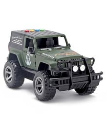 Dr. Toy Battery Operated Friction Jeep With Lights & Music - Grey