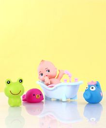 Animal Shape Bath Toys Multicolor - Pack of 5