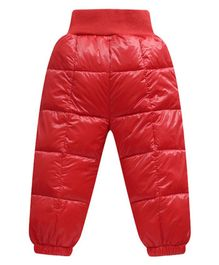 Awabox Solid Full Length Pants - Red
