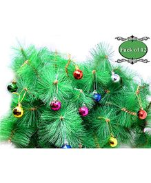 Amfin Christmas Disco Balls for Xmas Party Hanging Ornament - 12 Pieces
