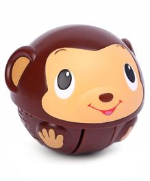 Bright Starts Giggables Toy - Brown