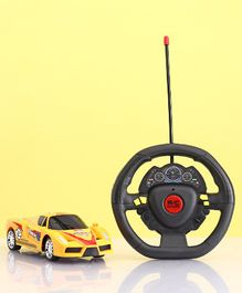 Remote Control Racing Car Toy Super Edition - Yellow