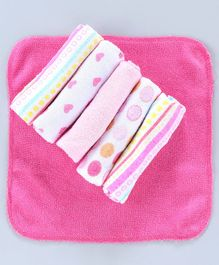 Owen Knit Napkin Wash Cloth Pack Of 6 - Multicolor