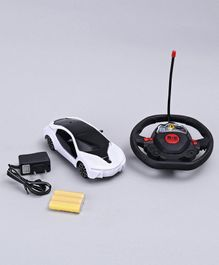 Remote Control Sports Car - Black & White