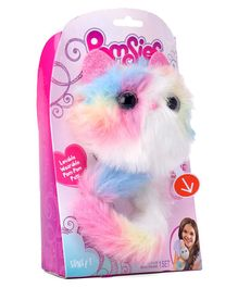 Skyrocket Pomsies Soft & Wearable Pets Pink & Blue - Length 17.5 cm