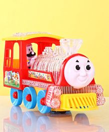 Battery Operated Locomotive Toy - Red